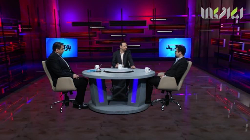 کیوسک لمسی الفی در برنامهی زنده تلویزیونی